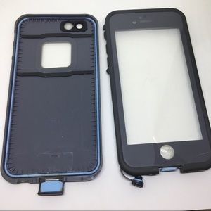 Lifeproof phone case for iPhone 6s grey and blue